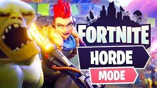 New Fortnite Horde Game Mode! (Fortnite Save The World)