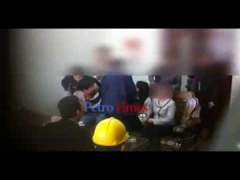 Phóng viên truyền hình ăn tiền bị công an bắt tại chỗ