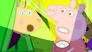 Peppa Pig Official Channel   Peppa's School Camping Night Gets Spooky