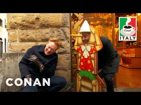 Conan v Itálii #2: V ulicích Florencie
