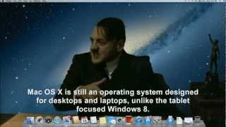 Hitler is informed he's installed on OS X Mountain Lion
