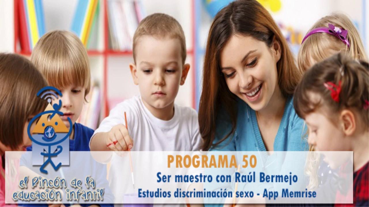 Ser maestro - Estudios desigualdad entre sexos - App Memrise - Marisol Justo (p50)