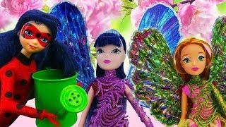 Феи Винкс и Леди Баг - Зимний сад - Приключения кукол