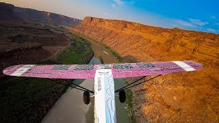 Supercub flying from Idaho to Colorado, Landing Telluride 9,070ft // Fly OVERLAND Ep.12