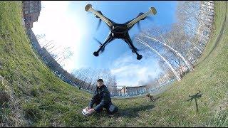 Аэропанорама 360 видео и фото съемка с воздуха