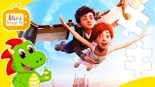 BALERINA BAJKA - Super Puzzle Dla Dzieci - Gry Dla Najmłodszych - Zabawki Dla Dzieci