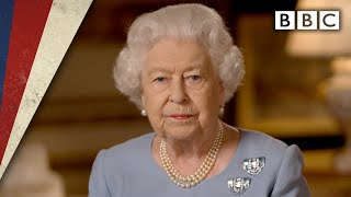 The Queen's VE Day Address 'Never give up' - VE Day 75 - BBC