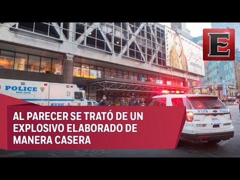 Detalles de la explosión en estación de autobuses en Nueva York