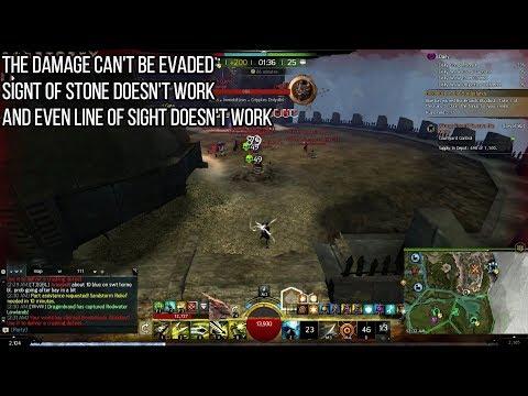 Guild Wars 2 Ranger - Entangle bugged