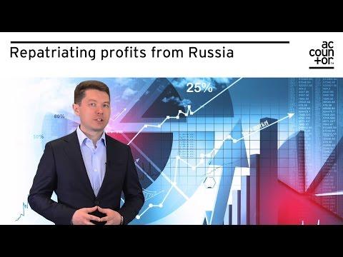 Repatriating profits from Russia
