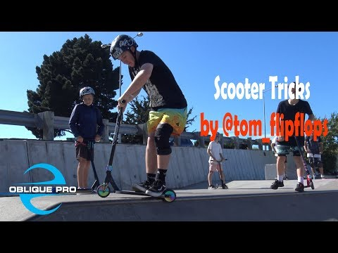 Scooter Tricks by @tom_flipflops