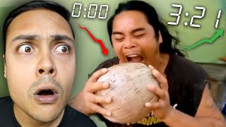 REACTING TO THE FASTEST WORKERS EVER