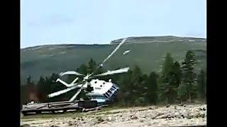 #43 【ヘリコプター事故!】 ヘリコプターの 墜落、転倒、神業操縦映像集