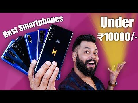 TOP 6 BEST MOBILE PHONES UNDER ?10000 BUDGET ⚡⚡⚡ October 2019