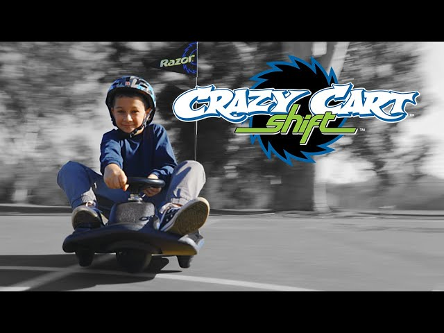 Crazy Cart Shift Ride Video with Features