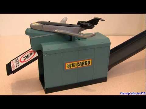 Spy Jet Escape Track Set Launcher Siddeley from Cars 2 Disney Mattel Siddley