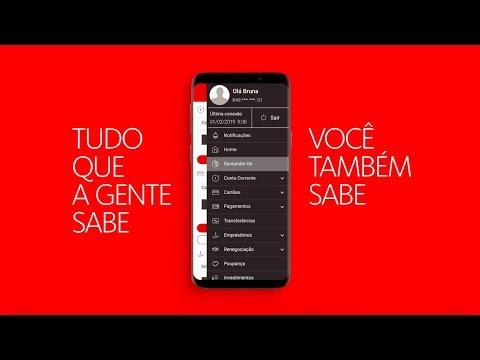 Santander On: Seus dados