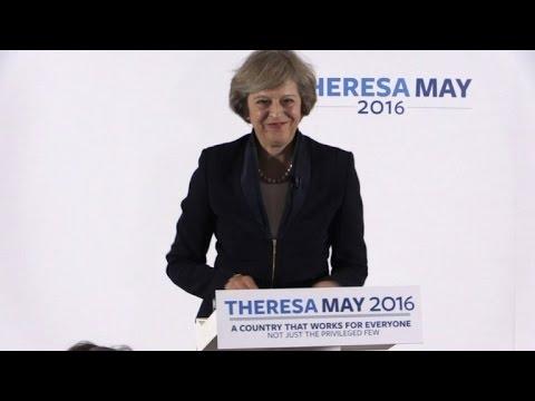 «Pas de retour dans l'UE après le Brexit» Theresa May