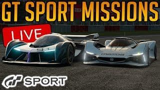 Gran Turismo Sport: Smashing All The Missions | Mission Challenge 100%