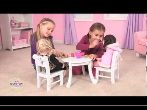 KidKraft Lil Doll Table & Chair Set 60133