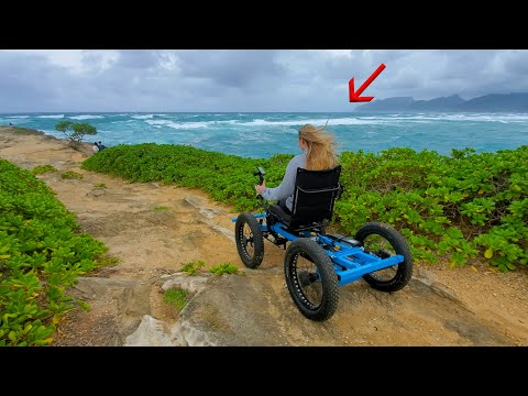 Youtuber who created an off-road wheelchair for his girlfriend a year ago are now mass producing them with his now wife.