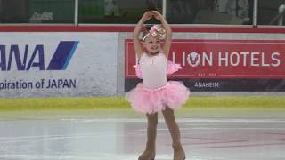 Amazing 4 Year Old Performs Figure Skating Routine in 2017 ISI Worlds Mariah Bell Benefit Show