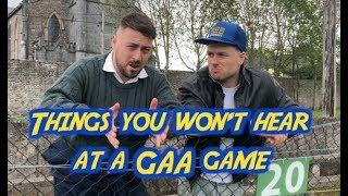 Things You Won't Hear At A GAA Match   2 Johnnies (sketch)
