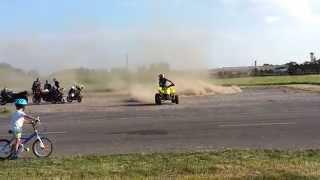 preview picture of video 'Suzuki LTZ 400 Polgárdi motorostalálkozó Hungary 2014'