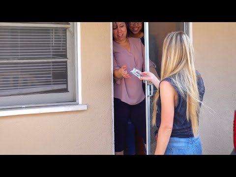 Download Knocking On Strangers Doors, Then Paying Their Rent Mp4 HD Video and MP3