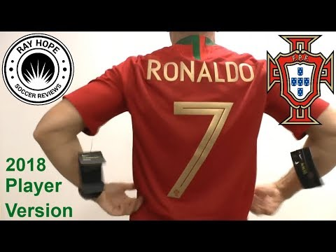 Portugal Ronaldo CR7 2018 World Cup home jersey VaporKnit player version unboxing review