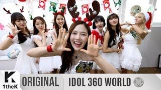 IDOL 360 WORLD(아이돌360월드):OH MY GIRL(오마이걸)_White(화이트)(VR Guide Ver.(VR 가이드 버전))