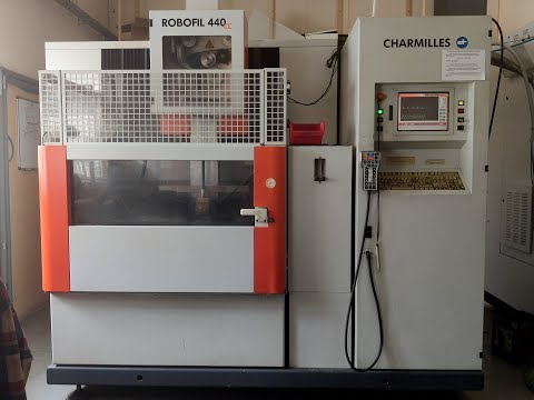 Wire Electrical Discharge Machine AGIE CHARMILLES ROBOFIL 440 CC 2005