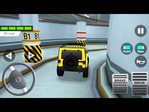 Indian Driving Test #2: Shopping Mall Car Parking Simulator - Android Gameplay FHD