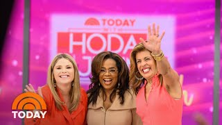 Watch Hoda Kotb Meet Her Idol Oprah For The 1st Time | TODAY