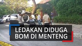 Sebuah Ledakan Terjadi di Wilayah Menteng, Jakarta Pusat, Polisi Masih Lakukan Penyelidikan