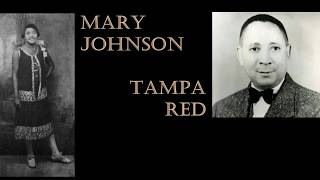 Mary Johnson(v) w/Tampa Red(g) ~Friendless Gal Blues ~1930~Vocalion 7160