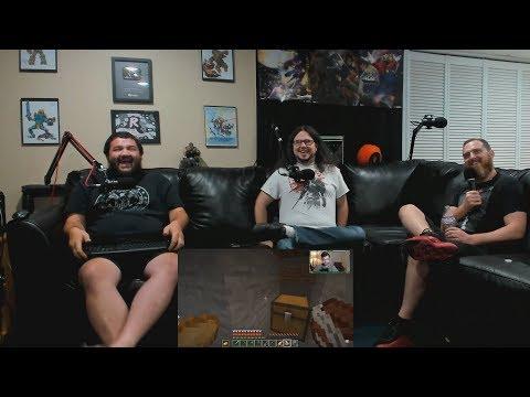 Renegades React to... VanossGaming - Minecraft: The Minority Cave - Stealing Nogla's Diamonds
