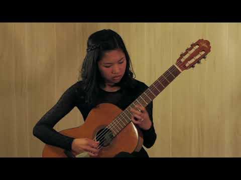 Maria Luisa by Julio Sagreras, performed by Kaye Cariola (2014)