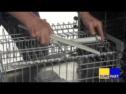 Wie tauscht man den Sprüharm einer Spülmaschine?