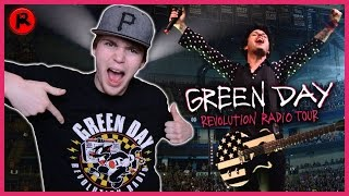 I SAW GREEN DAY LIVE FOR THE FIRST TIME!