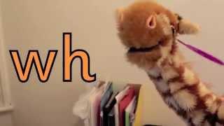 Geraldine the Giraffe learns /wh/