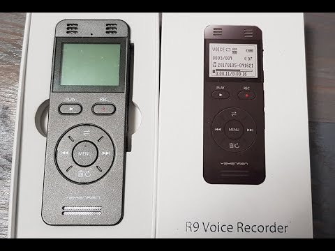 Digitales Diktiergerät YEMENREN 8GB Digitaler Voice Recorder Audio Aufnahmegerät Interviews Meetings