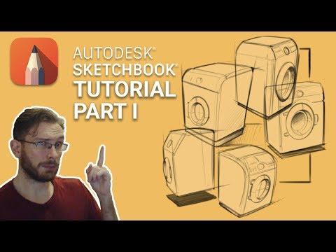Tutorial Sketchbook Mobile (Android/iOS) - смотреть онлайн на Hah Life