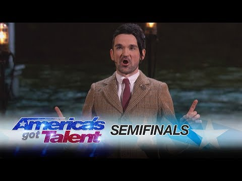 Colin Cloud: Mind Reader Predicts Your Tweets - America's Got Talent 2017 Mp3
