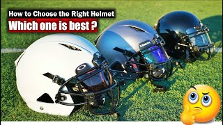 How To Choose The Right Football Helmet