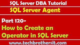SQL SERVER 2008 DBA TUTORIAL DOWNLOAD