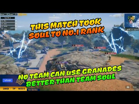 This match took Soul to Rank 1, Soul vs Ind, Soul vs Ins, Soul vs Tigers, PMCO India finals match 9