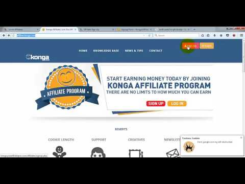 How to Earn as konga and jumia affiliate video Training