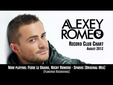 Alexey Romeo Record Club Chart August 2012 - Podcast | Radio Record