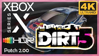 [4K/HDR] DiRT 5 (Patch 2.00) / Xbox Series X Gameplay / Visuals now really enhanced !